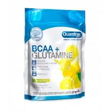 BCAA Quamtrax Nutrition BCAA 2:1:1 + Glutamine Powder, 500 г