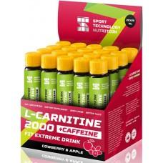 L-карнитин Sport Technology Nutrition '2000', яблоко, брусника, 25 мл х 20 шт