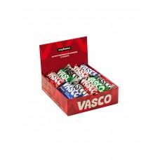 Шоколадный батончик Vasco в глазури без сахара 'Ассорти' (кокос, орех, клубника, шоколад), 20 шт