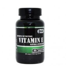 Vitamin E 60 капсул