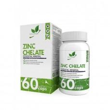 Zinc Chelate NaturalSupp  60 капс.