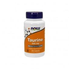 NOW Таурин 500мг / 100таб