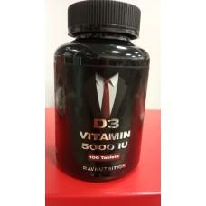 RAV Nutrition Витамин D3 5000 ед/таб  100 таб.