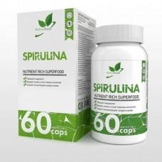 "Naturalsupp Vegan Спирулина ""Вег"" 60 капс., 500 мг/капс."