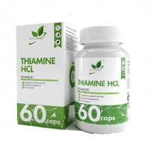 Naturalsupp Тиамин гидрохлорид, 60 капс. 5мг/капс.