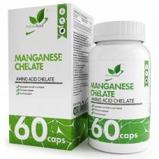 Naturalsupp Марганец хелат 60 капс.
