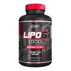 Nutrex Lipo 6 Black Weight Loss Support