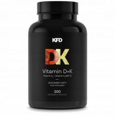 KFD Vitamin D+K- 200 tabl